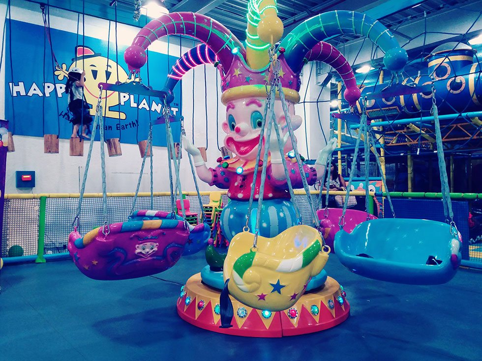 Flying Chairs(Merry Go Round) - Activities at Happy Planet