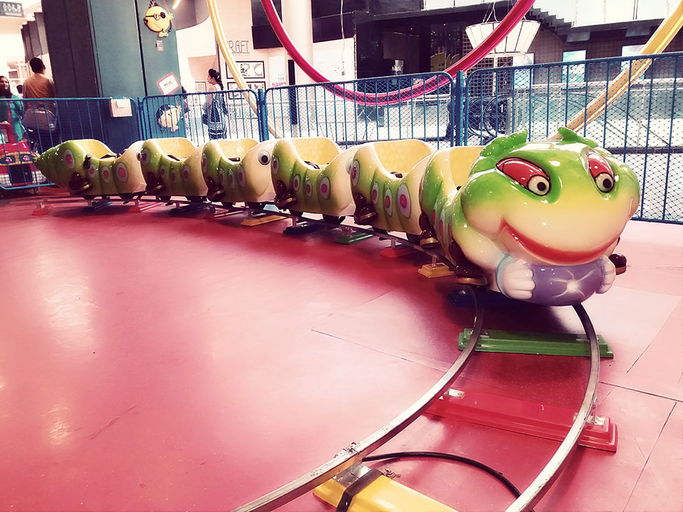 Fruit Worm Train -Kids Activities at Happy Planet