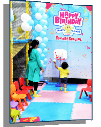 Mom & Toddlers Play Time @ Happy Planet